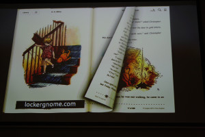 Skeuomorphism on iBooks