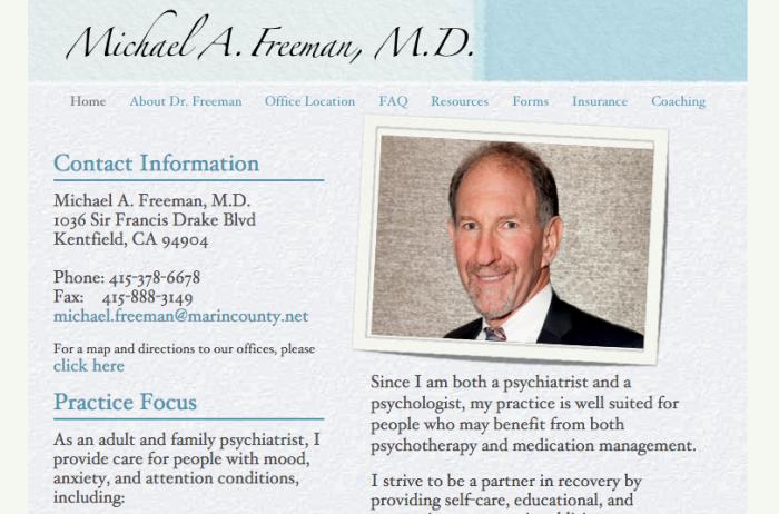 Michael Freeman's homepage.