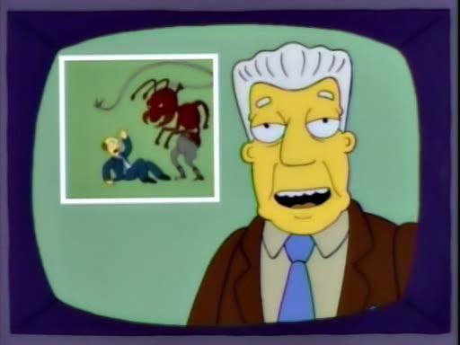 Original still, The Simpsons, 'Deep Space Homer' (1994)