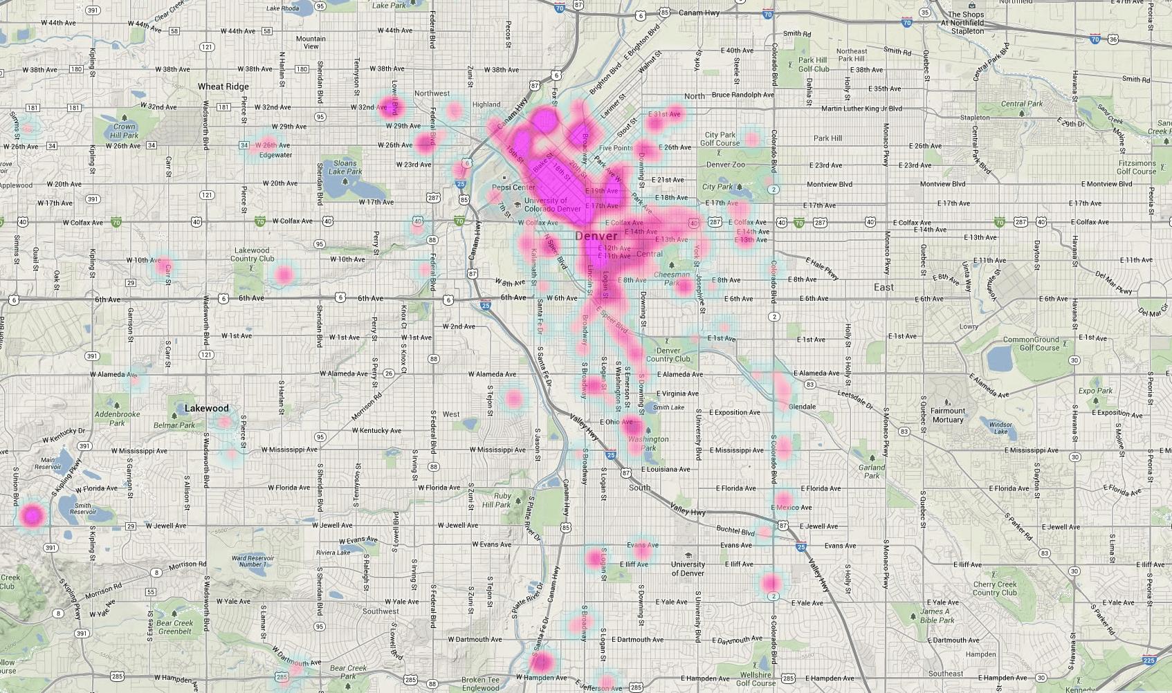5-Lyft-Heatmap