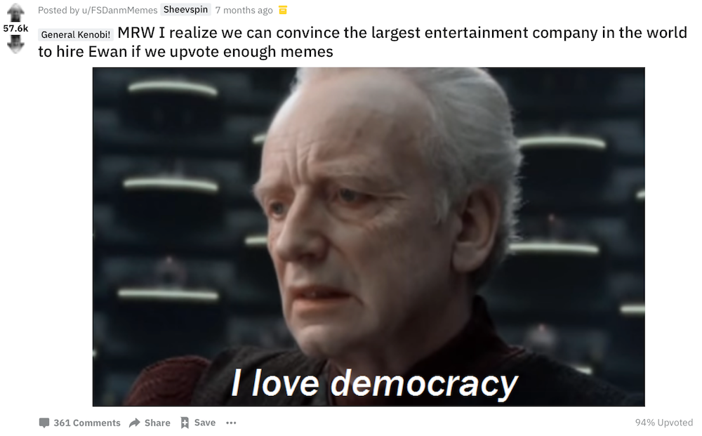 Execute Order 66: How Star Wars Memes Became Indebted to Fascist