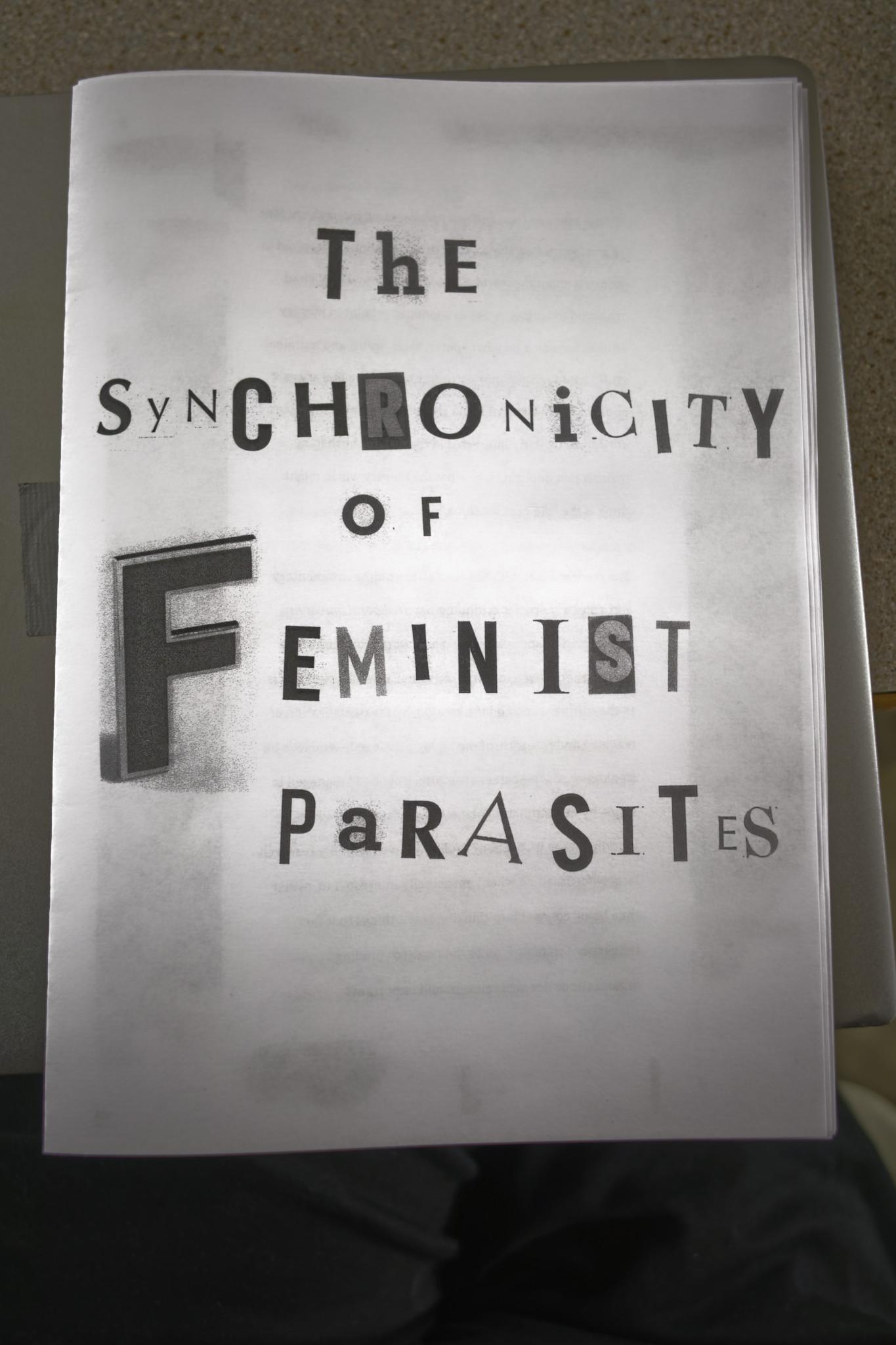 Synchronicity of Feminist Parasites