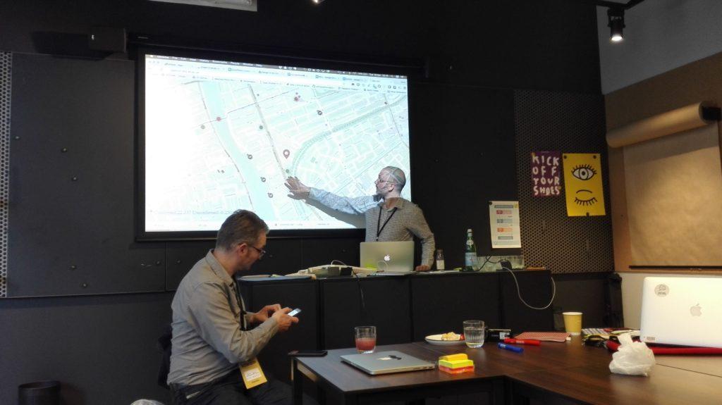 Prof. Chris Speed Introducing Geocoin platform