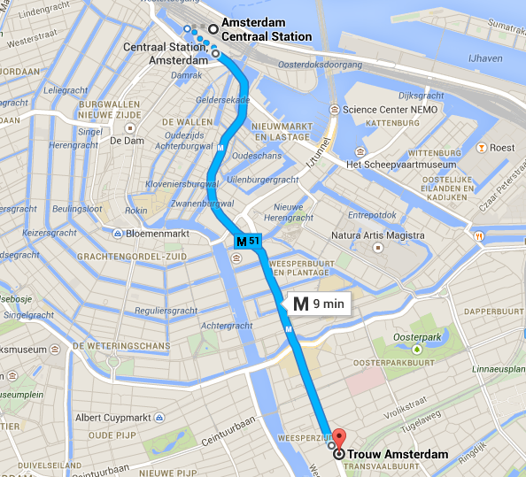 Directions to Trouw