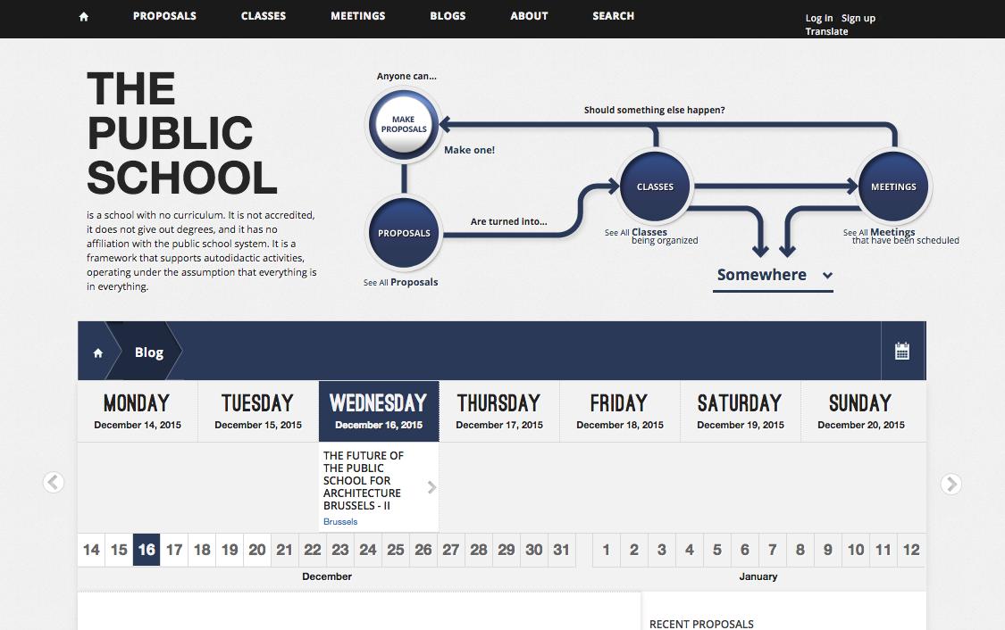 Screenshot The Public School