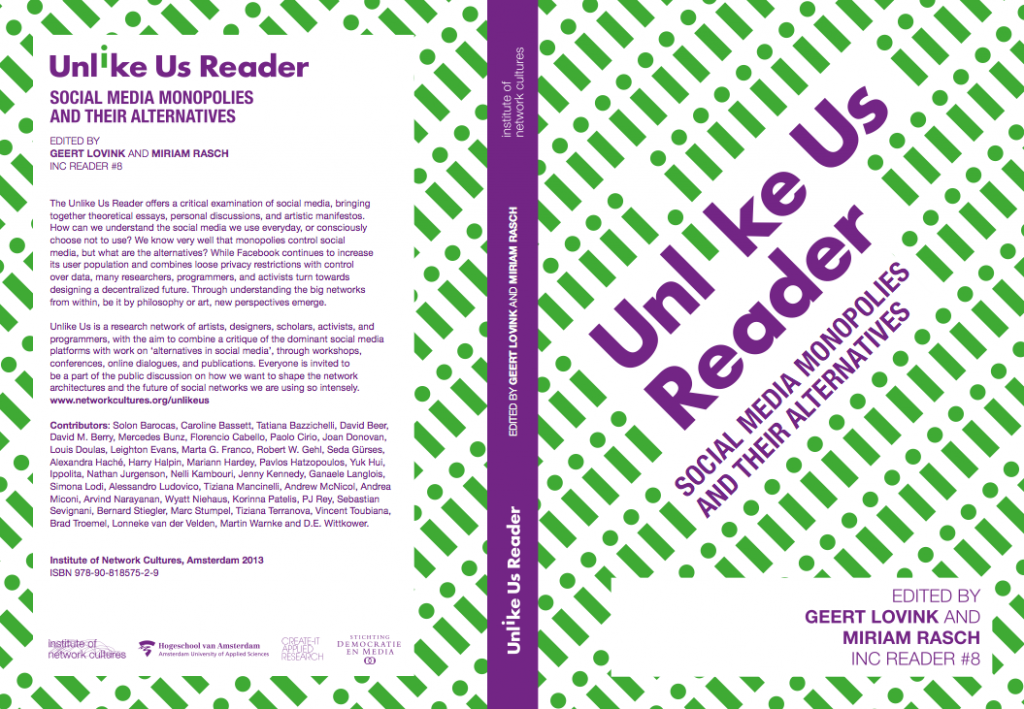 Unlike Us Reader Cover