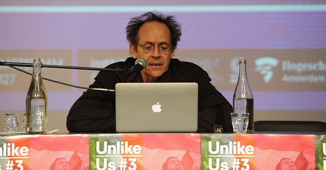 Bernard Stiegler (Photo by Martin Risseeuw)