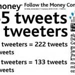 follow the money on twitter