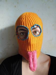"Carmen Schabracq -""Anonymity mask"""