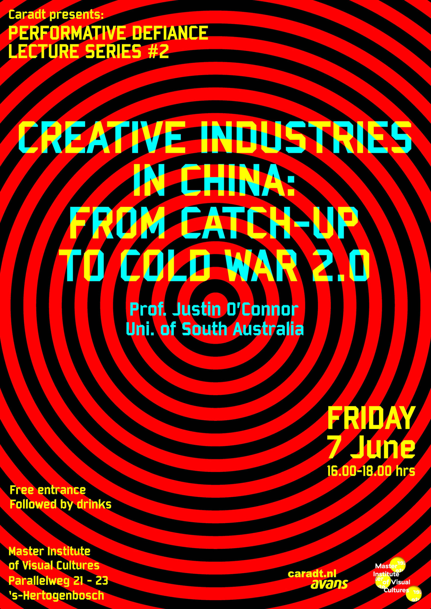 poster for lecture creative industries china